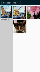 Transferir fotos vía Bluetooth - Samsung Galaxy A3 - A300M - Passo 9
