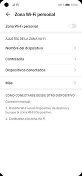 Configura el hotspot móvil - Huawei P40 Lite - Passo 7