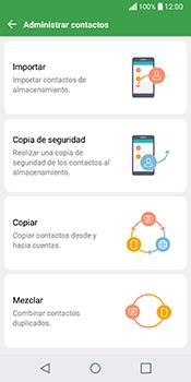 ¿Tu equipo puede copiar contactos a la SIM card? - LG Q6 - Passo 5