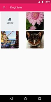Envía fotos, videos y audio por mensaje de texto - Motorola Moto G6 Plus - Passo 11