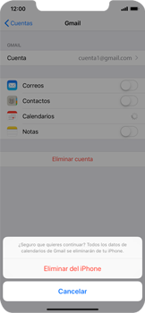 Desactivar la sincronización automática - Apple iPhone XS Max - Passo 8