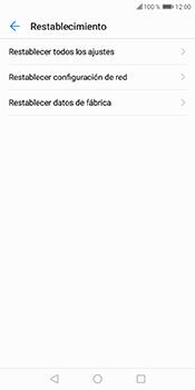 Restaura la configuración de fábrica - Huawei Y6 2018 - Passo 5
