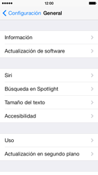 Actualiza el software del equipo - Apple iPhone 5c - Passo 5