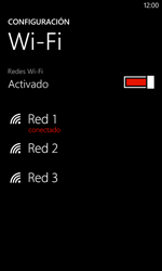 Configura el WiFi - Nokia Lumia 625 - Passo 8