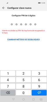 Cómo cambiar el código de bloqueo de pantalla de tu teléfono - Huawei Nova 5T - Passo 6