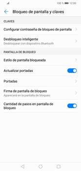 Desbloqueo del equipo por medio del patrón - Huawei Y7 2019 - Passo 5