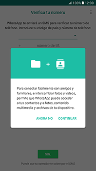 Configuración de Whatsapp - Samsung Galaxy A7 2017 - A720 - Passo 5