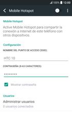 Configura el hotspot móvil - HTC 10 - Passo 14