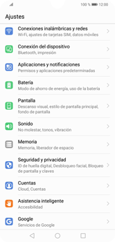 Configura el Internet - Huawei Y7 2019 - Passo 3