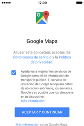 Uso de la navegación GPS - Apple iPhone 4s - Passo 4