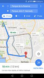 Uso de la navegación GPS - Huawei P10 - Passo 17