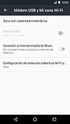 Configura el hotspot móvil - LG K8 (2017) - Passo 6
