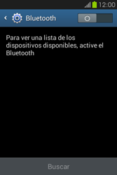 Conecta con otro dispositivo Bluetooth - Samsung Galaxy Fame GT - S6810 - Passo 5
