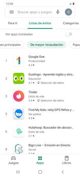 Instala las aplicaciones - Samsung Galaxy S20 - Passo 10