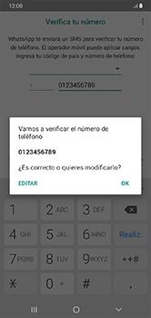 Configuración de Whatsapp - Samsung Galaxy A10 - Passo 6