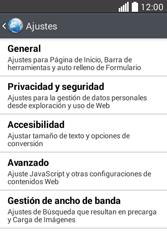 Configura el Internet - LG L40 - Passo 22