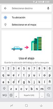 Uso de la navegación GPS - Samsung Galaxy S8 - Passo 13