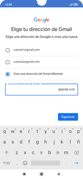 Crea una cuenta - Xiaomi Redmi Note 7 - Passo 9