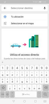 Uso de la navegación GPS - Huawei Y7 2019 - Passo 13