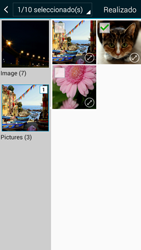 Envía fotos, videos y audio por mensaje de texto - Samsung Galaxy A3 - A300M - Passo 21