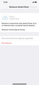 Configuración de Whatsapp - Apple iPhone XS Max - Passo 11