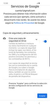 Crea una cuenta - Samsung S10+ - Passo 18
