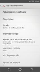 Actualiza el software del equipo - Sony Xperia Z2 D6503 - Passo 6