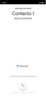 Contesta, rechaza o silencia una llamada - Xiaomi Redmi Note 9 Pro - Passo 2