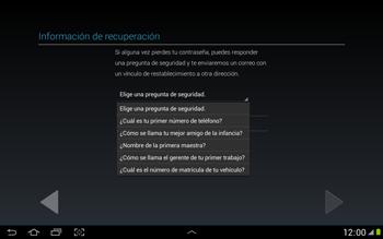 Crea una cuenta - Samsung Galaxy Note 10-1 - N8000 - Passo 14