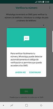 Configuración de Whatsapp - Samsung Galaxy S9 - Passo 10
