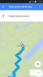 Uso de la navegación GPS - Samsung Galaxy A3 - A300M - Passo 22