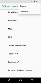 Configura el Internet - Motorola Moto G6 Play - Passo 16