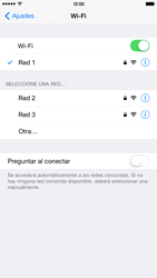 Configura el WiFi - Apple iPhone 6 - Passo 7