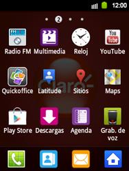 Uso de la navegación GPS - Samsung Galaxy Y  GT - S5360 - Passo 3