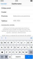 Crea una cuenta - Apple iPhone 6s - Passo 21