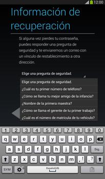 Crea una cuenta - Samsung Galaxy Tab 3 7.0 - Passo 12