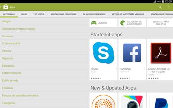 Instala las aplicaciones - Samsung Galaxy Note Pro - Passo 6