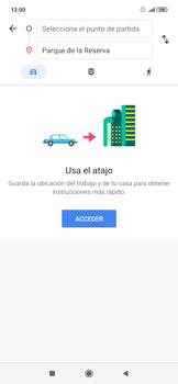 Uso de la navegación GPS - Xiaomi Redmi Note 7 - Passo 10
