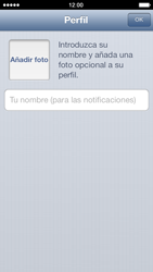 Configuración de Whatsapp - Apple iPhone 5c - Passo 11