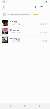 Transferir datos desde tu dispositivo a la tarjeta SD - Samsung Galaxy A30 - Passo 6