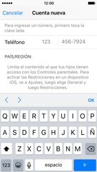 Crea una cuenta - Apple iPhone 5c - Passo 23