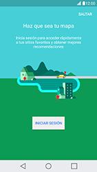 Uso de la navegación GPS - LG X Cam - Passo 5