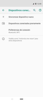 Conecta con otro dispositivo Bluetooth - Motorola One Vision (Single SIM) - Passo 8