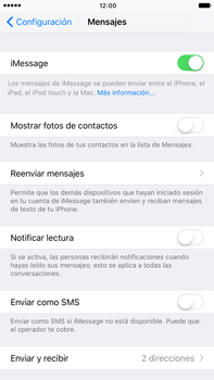 Enviar iMessage - Apple iPhone 7 Plus - Passo 5