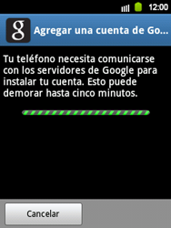 Crea una cuenta - Samsung Galaxy Y  GT - S5360 - Passo 7