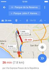 Uso de la navegación GPS - Apple iPhone 4s - Passo 18
