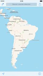 Uso de la navegación GPS - Apple iPhone 7 - Passo 3