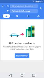 Uso de la navegación GPS - LG X Cam - Passo 13