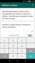Configuración de Whatsapp - Huawei P8 - Passo 5