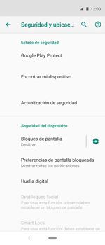 Cómo cambiar el código de bloqueo de pantalla de tu teléfono - Motorola One Vision (Single SIM) - Passo 4
